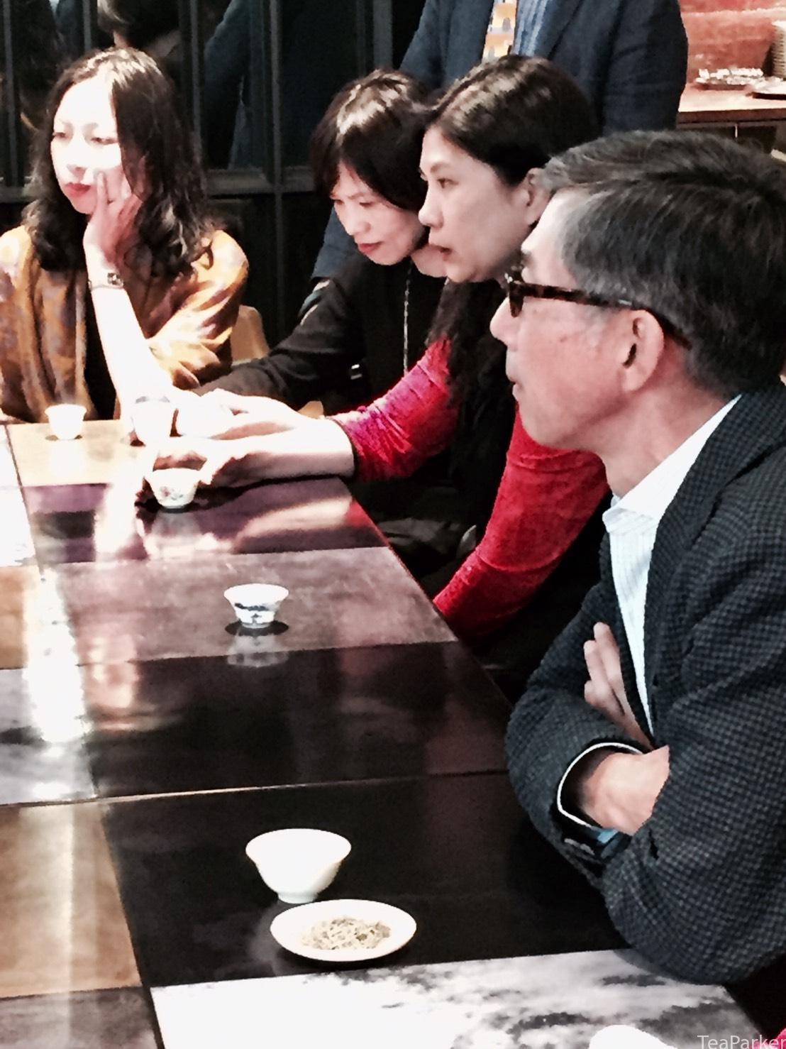 文華東方的茶宴